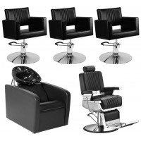 Комплект мебели для салона красоты Barber