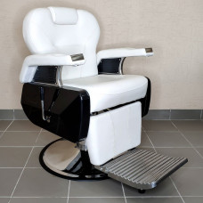 Барбер кресло Saturn White