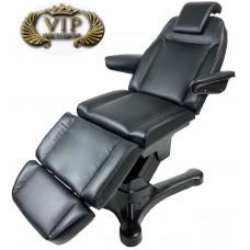 Косметологическое кресло Iceberg Black Edition, 3 мотора, Регистрационное удостоверение