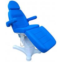 Косметологическое кресло Zara Blue, 4 мотора, Регистрационное Удостоверение