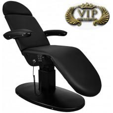 Кресло косметологическое Eva Black Edition, 3 мотора