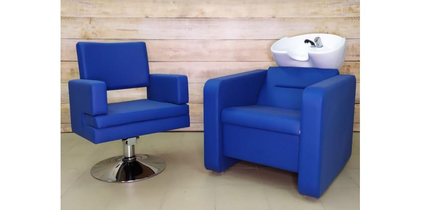 Парикмахерская мойка Prestige + Парикмахерское кресло Prestige